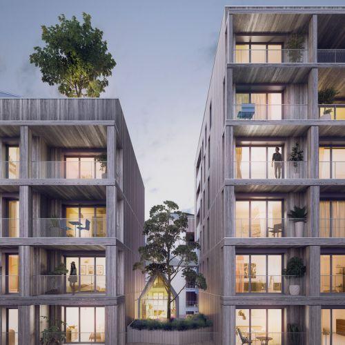 logement neuf extérieur 2 New G - PARIS 13