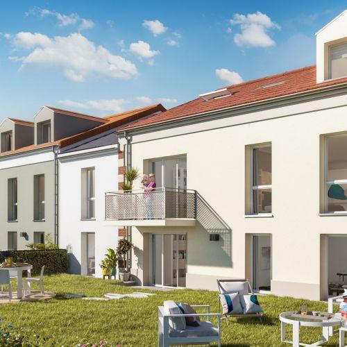 logement neuf extérieur Le Hameau de Gênet - PONTAULT COMBAULT