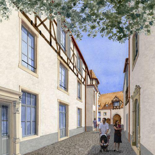 logement neuf extérieur 1 COUR SAINT MARTIN - COLMAR