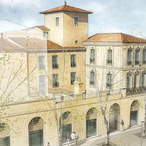 logement neuf extérieur MAISON AUGUSTE - NIMES