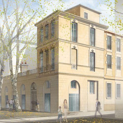 logement neuf extérieur 1 MAISON AUGUSTE - NIMES