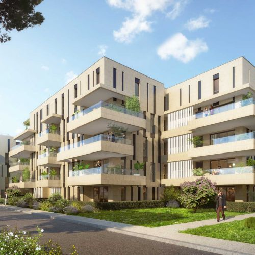 logement neuf extérieur ADN Borely - MARSEILLE 08