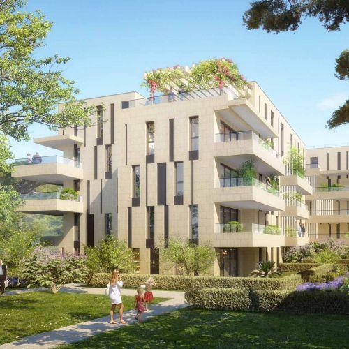 logement neuf extérieur 2 ADN Borely - MARSEILLE 08