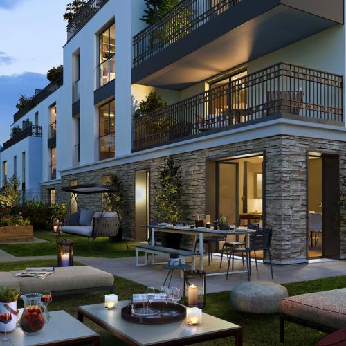 logement neuf extérieur Onyx - SAINT CLOUD