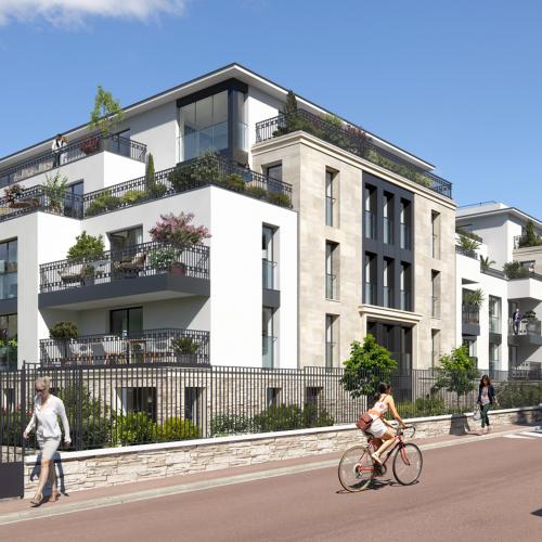 logement neuf extérieur 1 Onyx - SAINT CLOUD