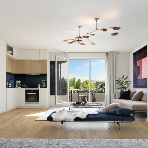 logement neuf intérieur Onyx - SAINT CLOUD