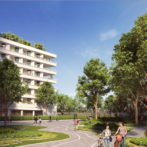logement neuf extérieur 1 PRYSM - CLICHY