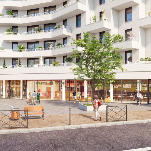 logement neuf extérieur PRYSM - CLICHY