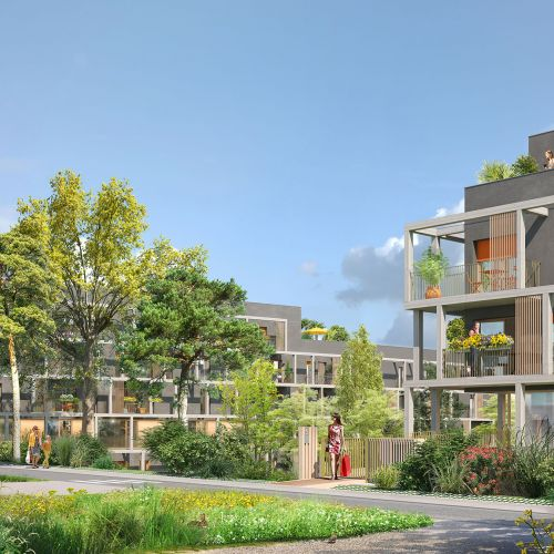 logement neuf extérieur 2 Nature & Coteaux - TORCY