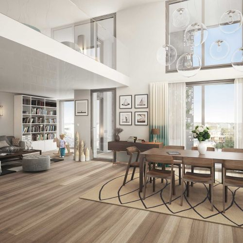 logement neuf intérieur Palomaya - MONTPELLIER