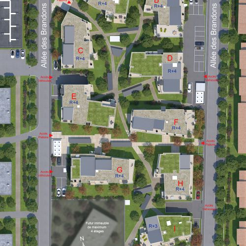 logement neuf plan Osmose - COMBS LA VILLE