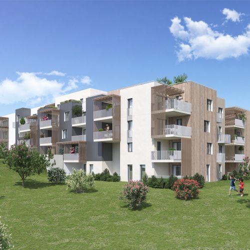 logement neuf extérieur Domaine Verdania - FREJUS