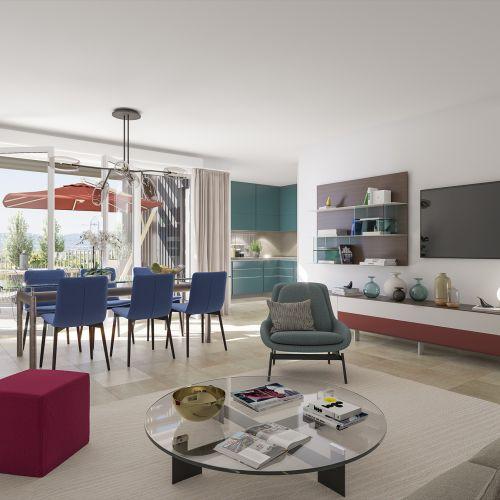 logement neuf intérieur Domaine Verdania - FREJUS