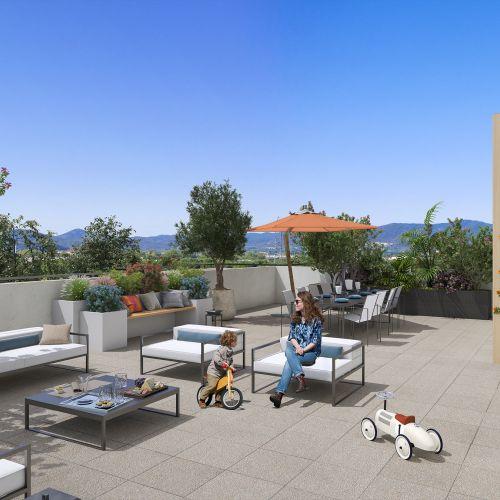 logement neuf extérieur 1 Domaine Verdania - FREJUS