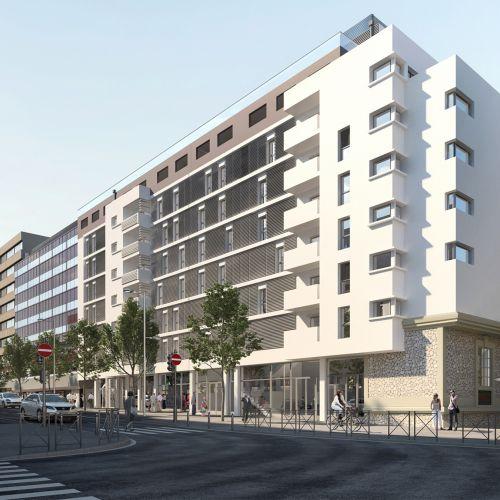logement neuf extérieur 2 La Transat - MARSEILLE