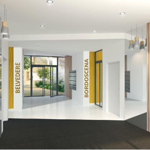 logement neuf intérieur BORDOSCENA - BORDEAUX