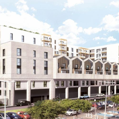 logement neuf extérieur 1 Bordovita - BORDEAUX