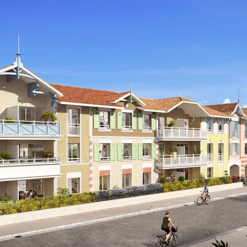 logement neuf extérieur LA BELLE SAISON - ARCACHON