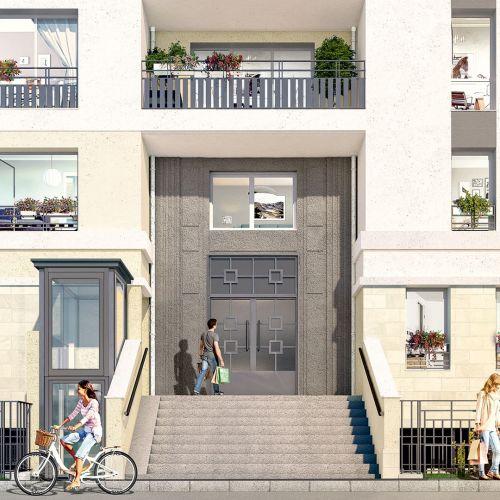 logement neuf extérieur Carré Blanc - JUVISY SUR ORGE