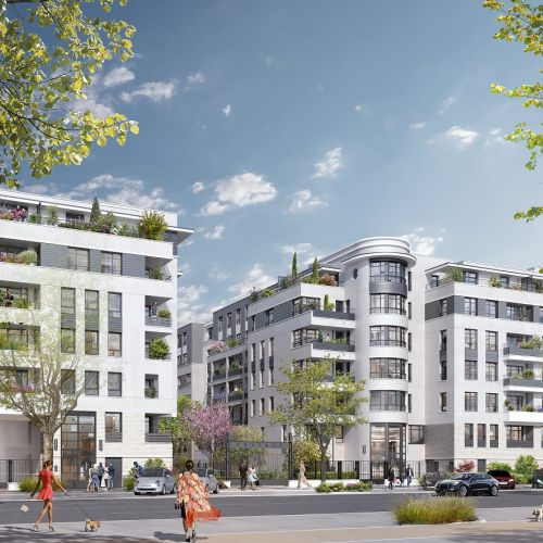 logement neuf extérieur CHARLES MARTIGNY - MAISONS ALFORT