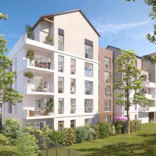 logement neuf extérieur Central Nature - MELUN