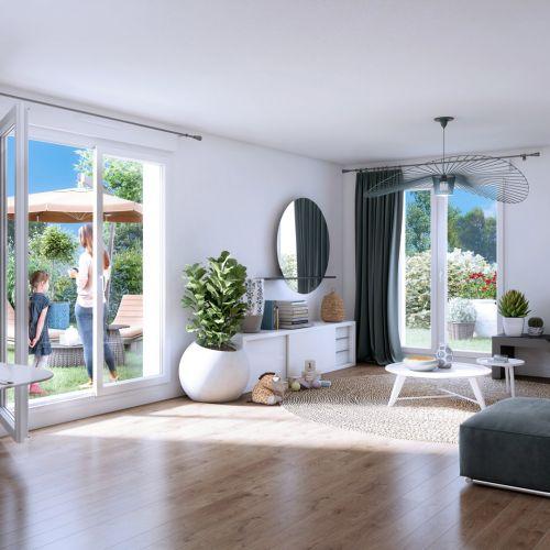 logement neuf intérieur Central Nature - MELUN