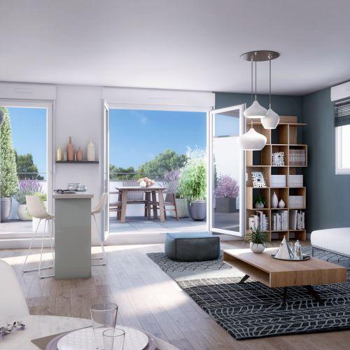 logement neuf intérieur 1 Central Nature - MELUN