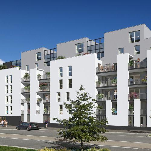 logement neuf extérieur Le Métropolitain - VILLENAVE D ORNON