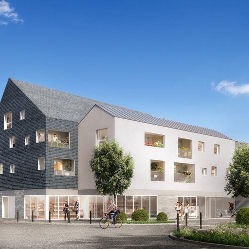 logement neuf extérieur LES JARDINS DU CYGNE - HAUTE GOULAINE