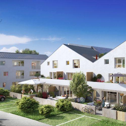 logement neuf extérieur 1 LES JARDINS DU CYGNE - HAUTE GOULAINE