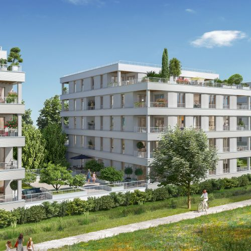 logement neuf extérieur URB'IN - BORDEAUX