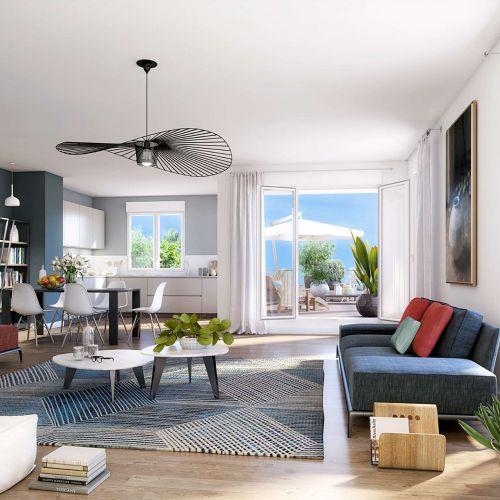 logement neuf intérieur URB'IN - BORDEAUX