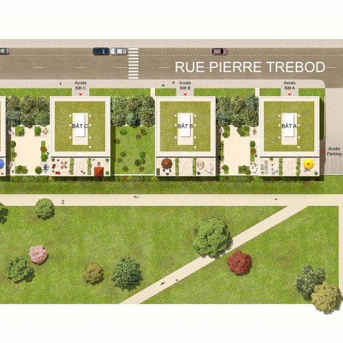 logement neuf plan URB'IN - BORDEAUX