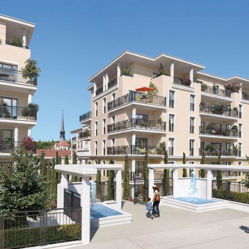 logement neuf extérieur DOMAINE DU PARC RAMBOT - AIX EN PROVENCE