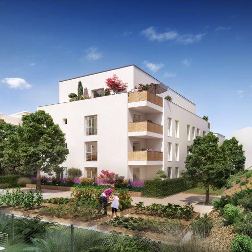 logement neuf extérieur Intervalles - VENISSIEUX