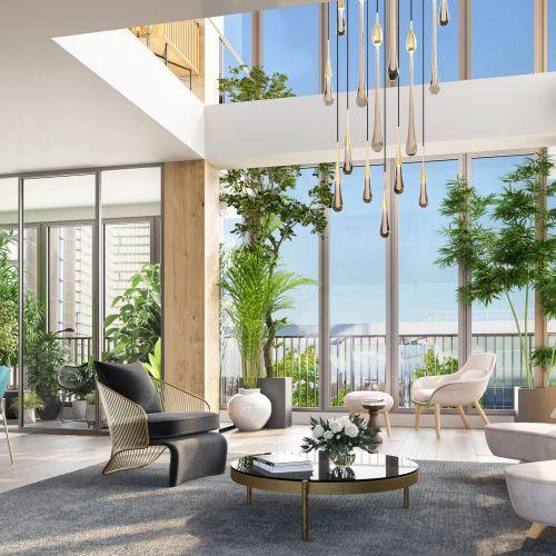logement neuf intérieur AIR DU TEMPS - PARIS 13