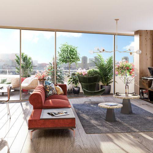 logement neuf intérieur 1 AIR DU TEMPS - PARIS 13