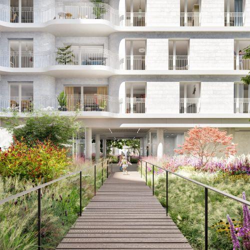 logement neuf extérieur Boréales - CLICHY