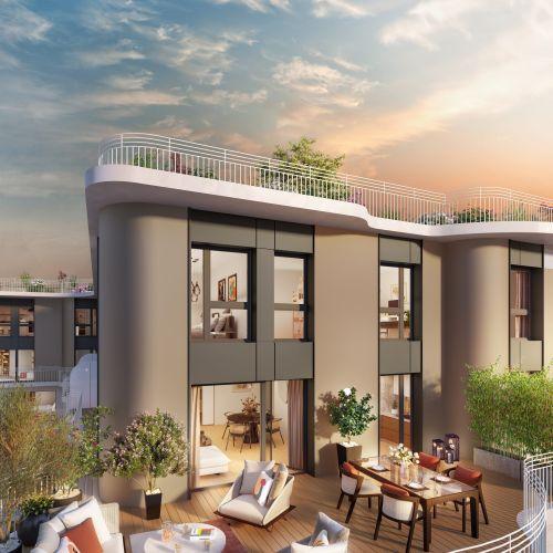 logement neuf extérieur 2 Boréales - CLICHY