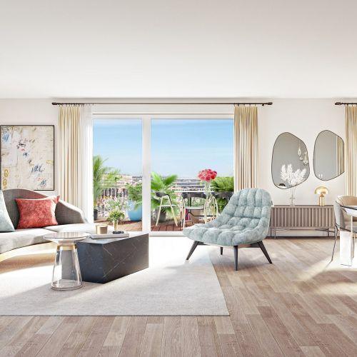 logement neuf intérieur Boréales - CLICHY