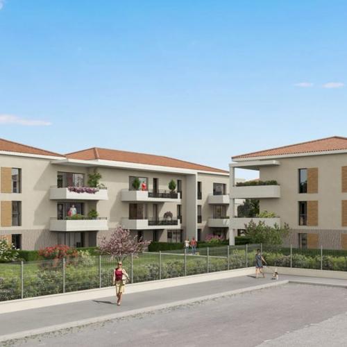 logement neuf extérieur Soleia - FREJUS