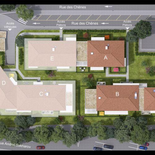 logement neuf plan Soleia - FREJUS