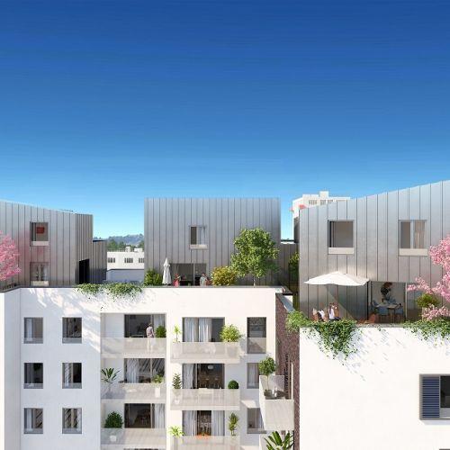 logement neuf extérieur 2 Panorama - COURNEUVE
