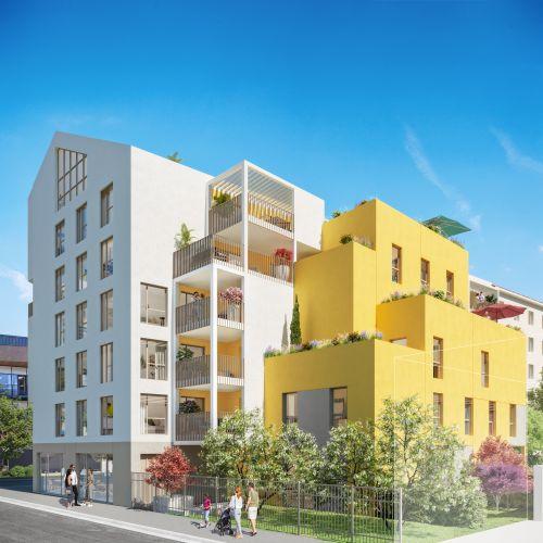 logement neuf extérieur HAVEN HALL - VILLEURBANNE