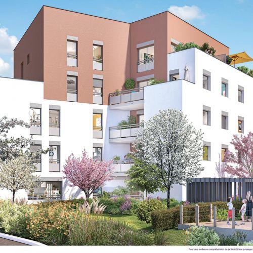 logement neuf extérieur 3 DECLIC - VILLEURBANNE