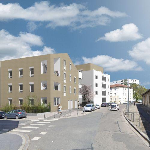 logement neuf extérieur 1 DECLIC - VILLEURBANNE