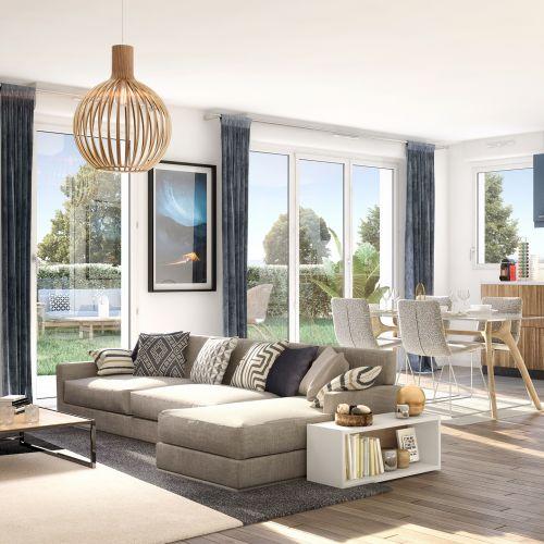 logement neuf intérieur Coeur de ville - ST REMY LES CHEVREUSE