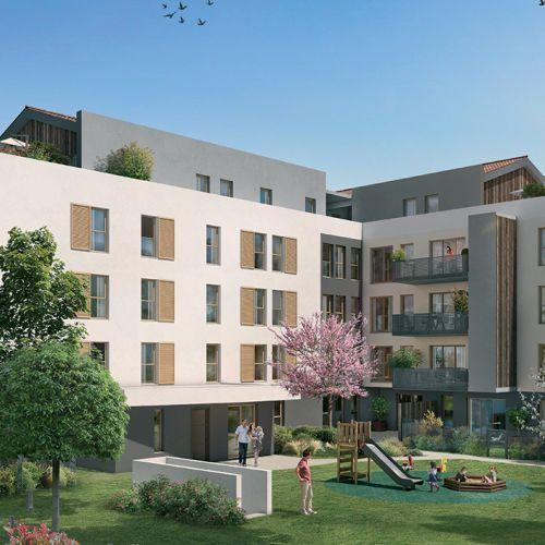logement neuf extérieur Génération Gratte Ciel - VILLEURBANNE