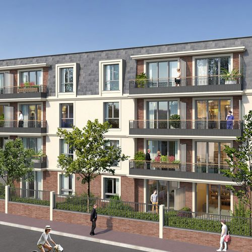 logement neuf extérieur Esprit Plaisance - NEUILLY PLAISANCE