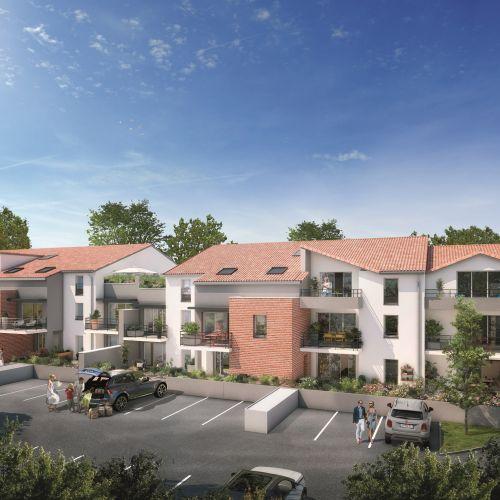 logement neuf extérieur Le Domaine de Candice - MONDONVILLE